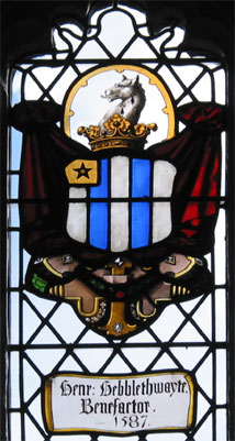 Arms in St John's College