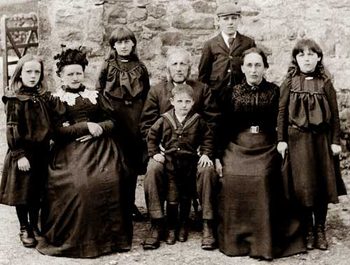 Hebblethwaite Family at Potgill Holme